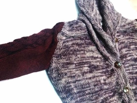 Women Oversized Shawl Cardigan Purple_ v222_SD