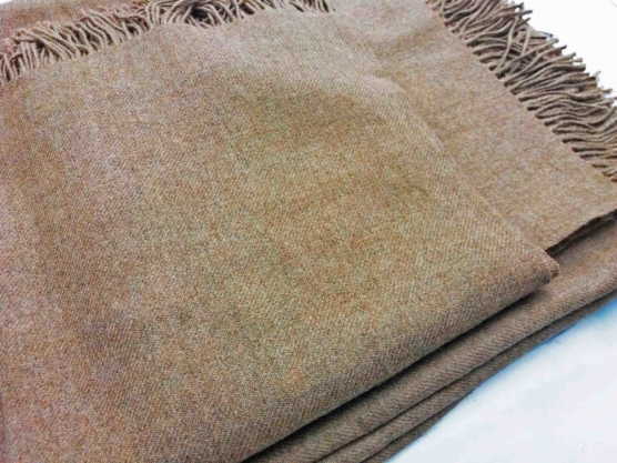 Royal Alpaca throw blanket BEIGE_ Natural Beige_sd_222