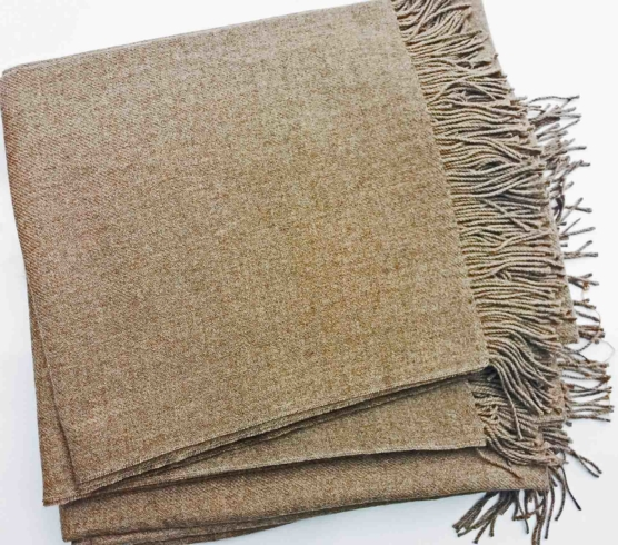 Royal Alpaca throw blanket BEIGE_ Natural Beige_sd_4444