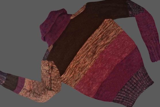 Women Oversized Shawl Cardigan Mixed Colored_v666-AMZN_sd