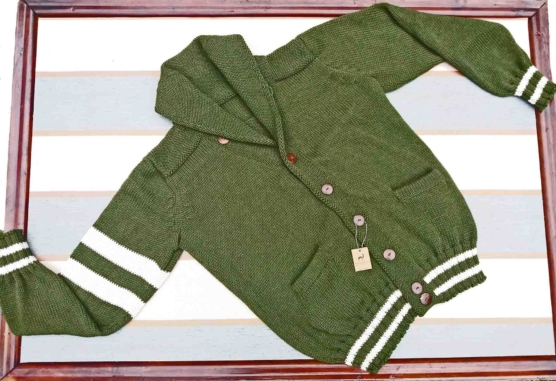 sd_Royal Alpaca Shawl Collar Cardigan_ solid green _v33