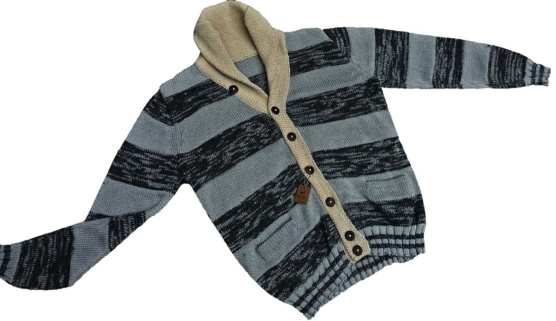 sd_Royal Alpaca CARDIGAN light grey stripes_ pattern _v111 _AMAZON