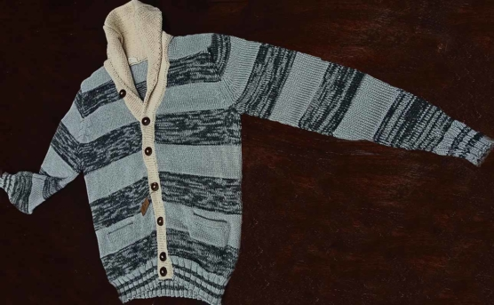 sd_Royal Alpaca CARDIGAN light grey stripes_ pattern _v333