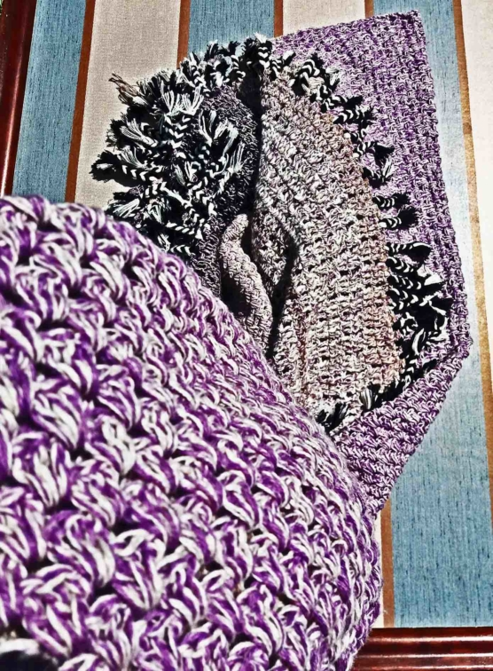 Royal Alpaca throw blanket crochet_purple-beige_mixed_v333__sddd