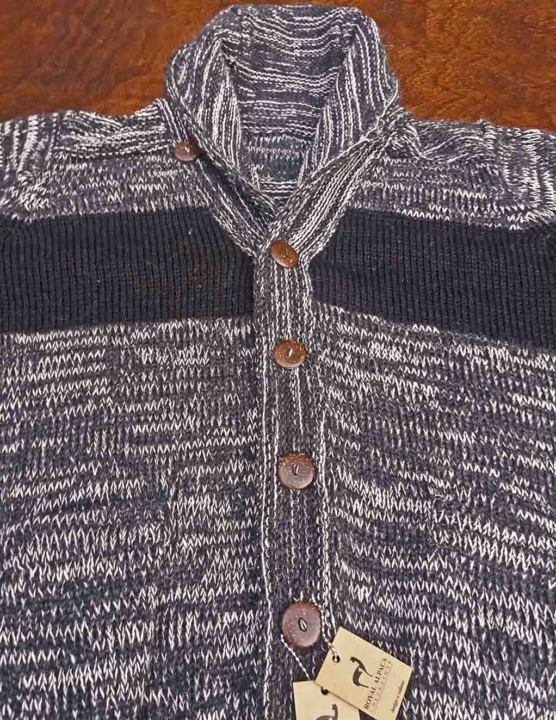Royal Alpaca Dark grey Cardigan_black stripes_ v2-AMZN_sd