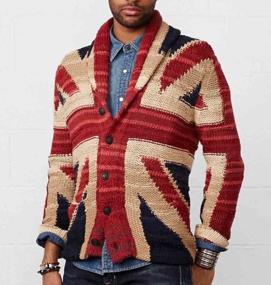 Royal Alpaca Shawl Cardigan_ british flag_ v1_COB_sddd