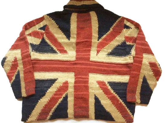 Royal Alpaca Shawl Cardigan_ british flag_ v4_sdddd