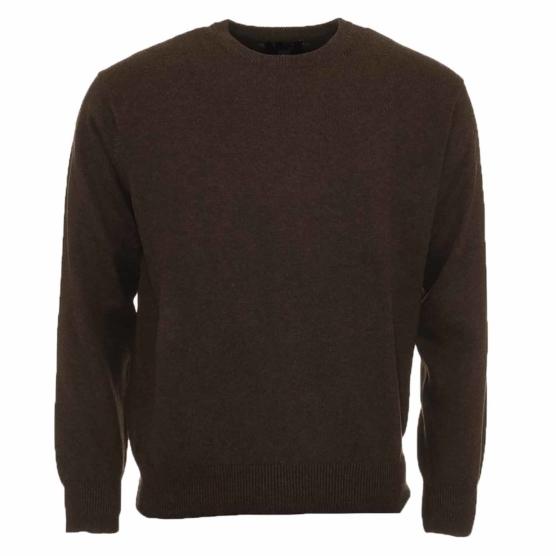 Baby Alpaca dark brown_crewneck sweater_v11_sdddd