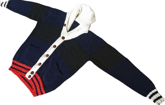 Gucci Royal Alpaca Cardigan_ blue_black_white_nck-v1_sd