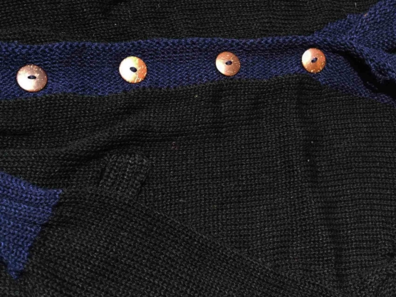 Royal Alpaca Cardigan black-blue_66666_sd22