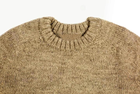Royal Alpaca Crewneck Sweater BEIGE_COB1_ AMZN222_sd1