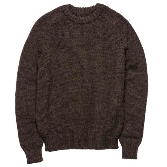 Royal Alpaca Crewneck Sweater Dark brown_ v333_ AMZNNN_sd11
