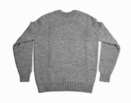 Royal Alpaca Crewneck Sweater grey _COB1_ AMZN1222_sd11