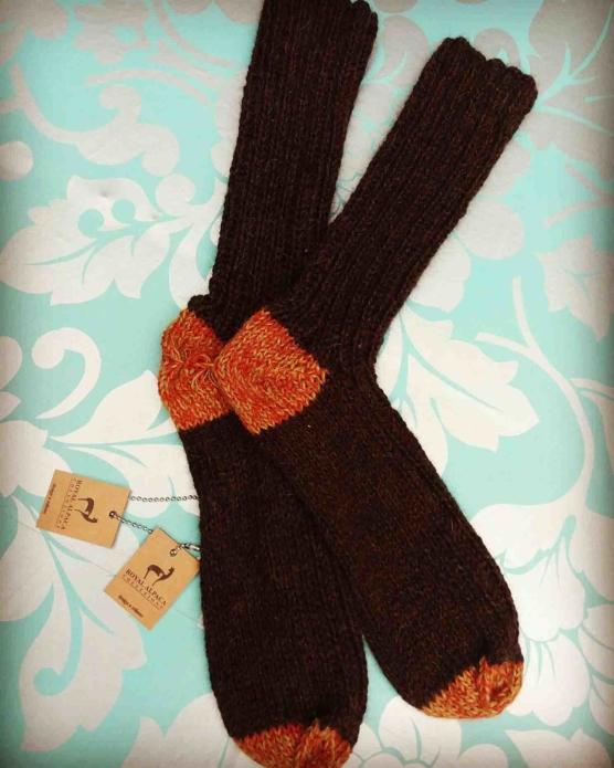 Baby Alpaca handknitted socks