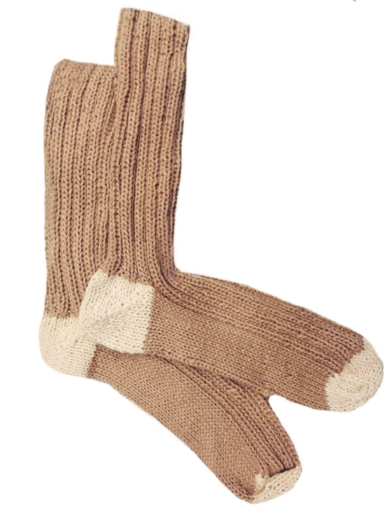 Beige Socks_ Royal Alpaca socks handknitted_ AMZN111_sd1