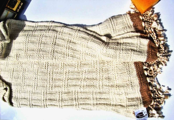 Peruvian Royal Alpaca Chunky knit Throw blanket_v3_sd