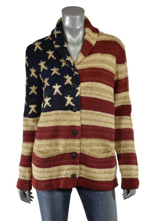 Royal Alpaca Shawl Collar Women USA Flag Cardigan_v1-AMZN_sd