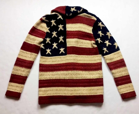 Royal Alpaca Shawl Collar Women USA Flag Cardigan_v2-AMZN_sd