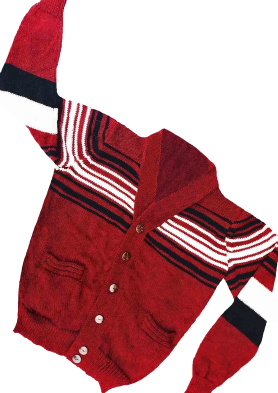 Baby Alpaca Cardigan_ mix red__v6COB_UK_ VNECK_sddd