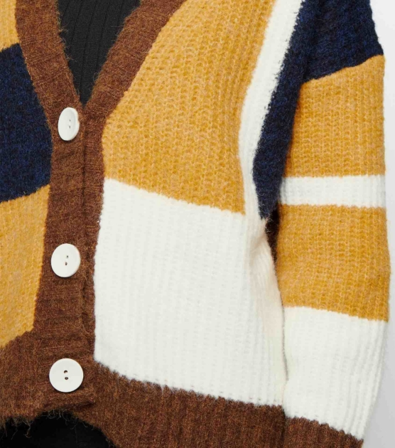 mustard-patchwork-long-sleeve-v-neck-cardigan_sddd444