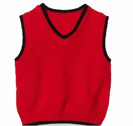RED VEST V-Neck_black_v1_sddd