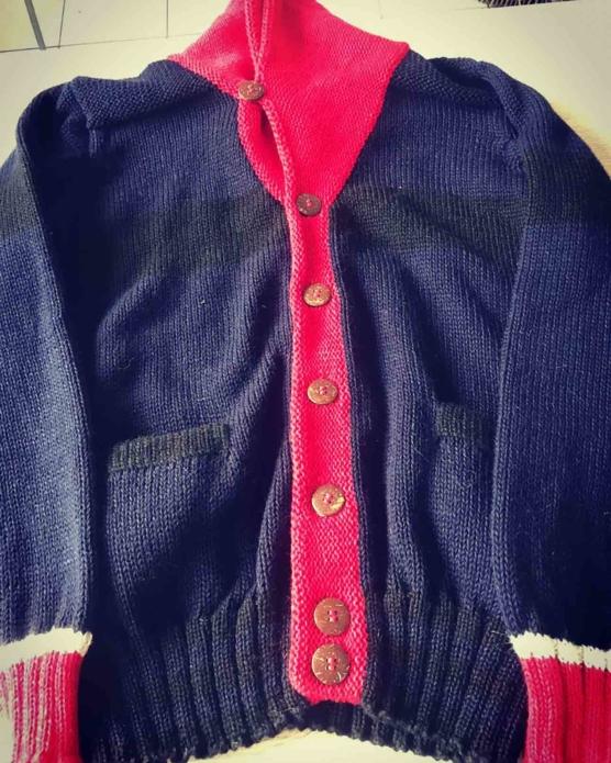 Royal Alpaca Navy blue_red neck_ V1_sd