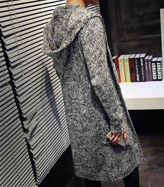 Royal Alpaca Shawl Cardigan_Hooded_v11_Grey_sd
