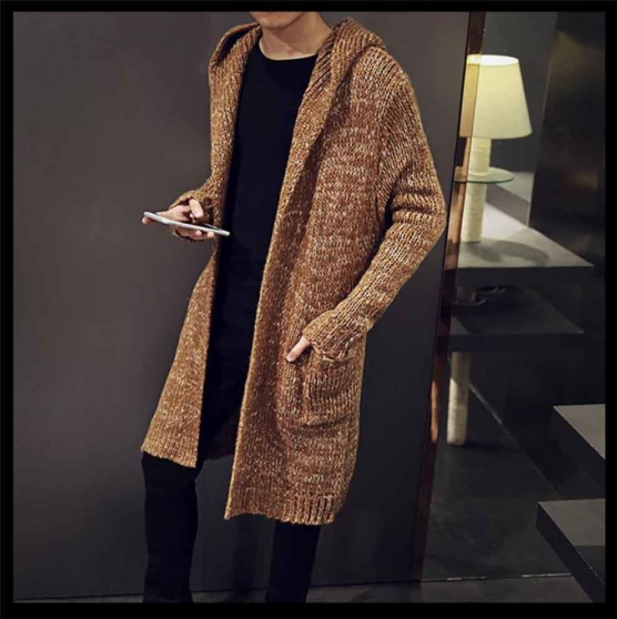 Royal Alpaca Shawl Cardigan_Hooded_v1_Beige_sd