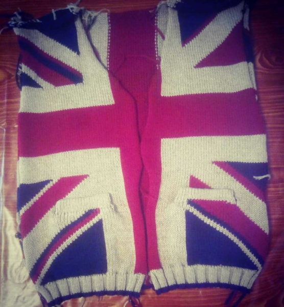 Royal Alpaca V-Neck Cardigan_British_flag_v1_sd
