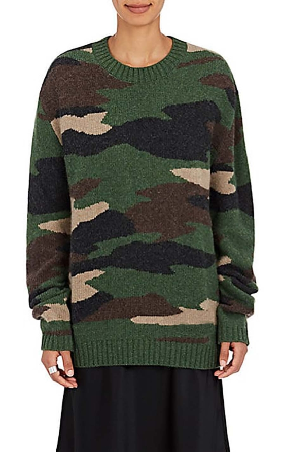 camouflage1_baby alpaca sweater_v88sddd