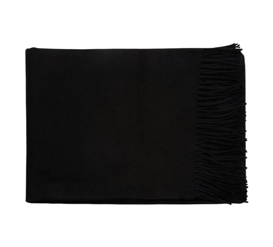 black baby alpaca throw blanket_222