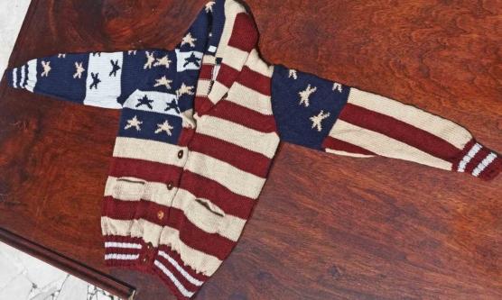20181002_135655 USA flag Cardigan AMZN777_sd111