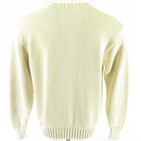 Cashmere Sweater USA flag polo OffWhite_AMZN333_sd3333