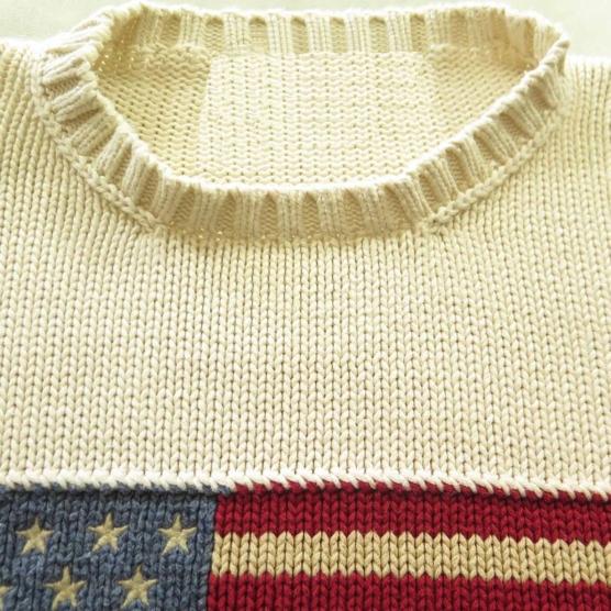 Cashmere Sweater USA flag polo OffWhite_AMZN555_sd5555