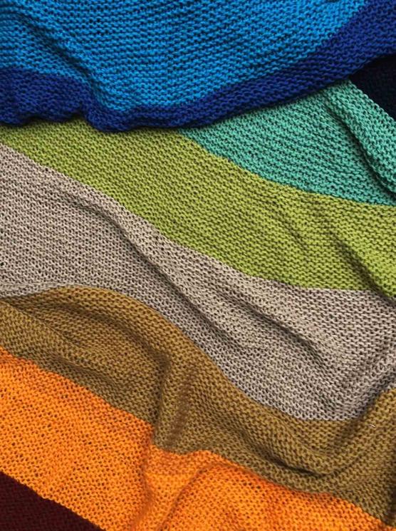IMG_4133 Royal alpaca throw blanket handknitted_ Rainbow_AMZN333 sd777