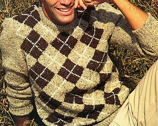 Beige-brown_diamonds_Sweater_sd111